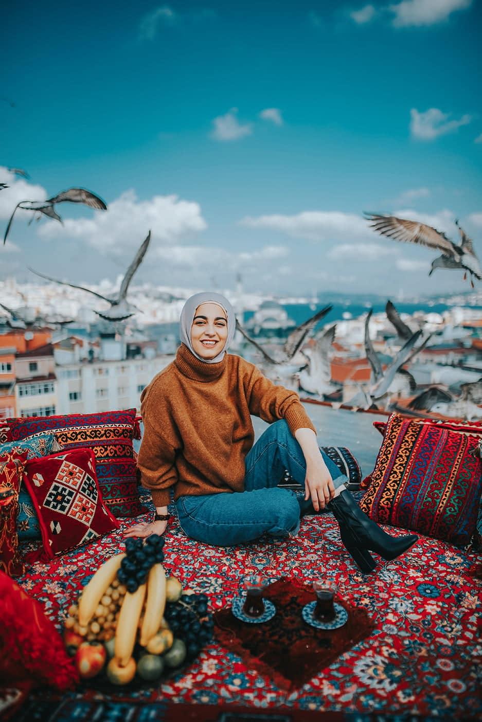 splendid rooftop in istanbul
