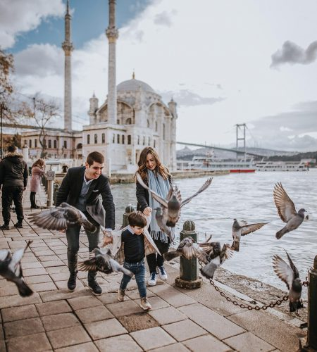 family photoshoot in istanbul