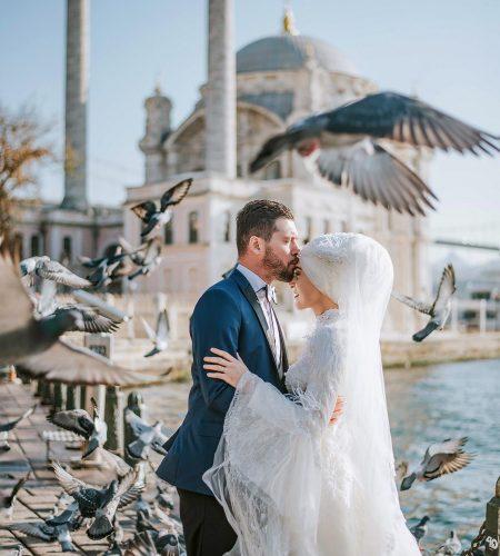 wedding photoshoot in istanbul